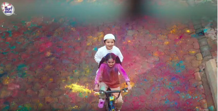 Surf Excel new Holi ad