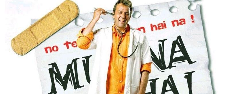 Sanjay Dutt in MunnaBhai MBBS