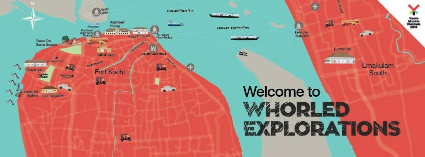 Kochi Muziris Biennale 2014 Unveils Rare Maps Of India From 16th To