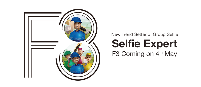 OPPO F3 is coming this May