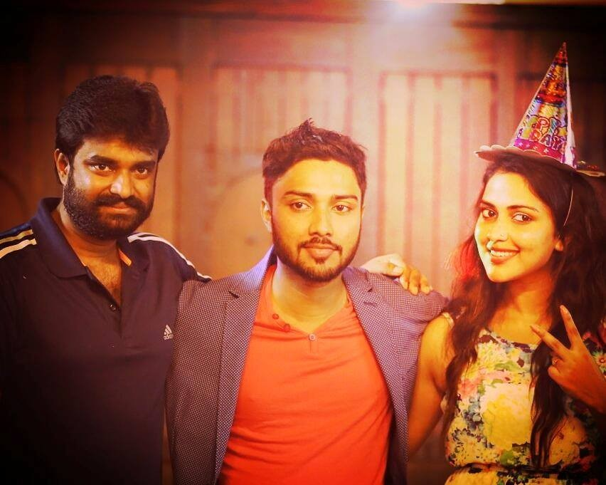 Amala Paul,Amala Paul brother,abhijith paul,abhijith paul birthday,Amala paul birthday,birthday celebration
