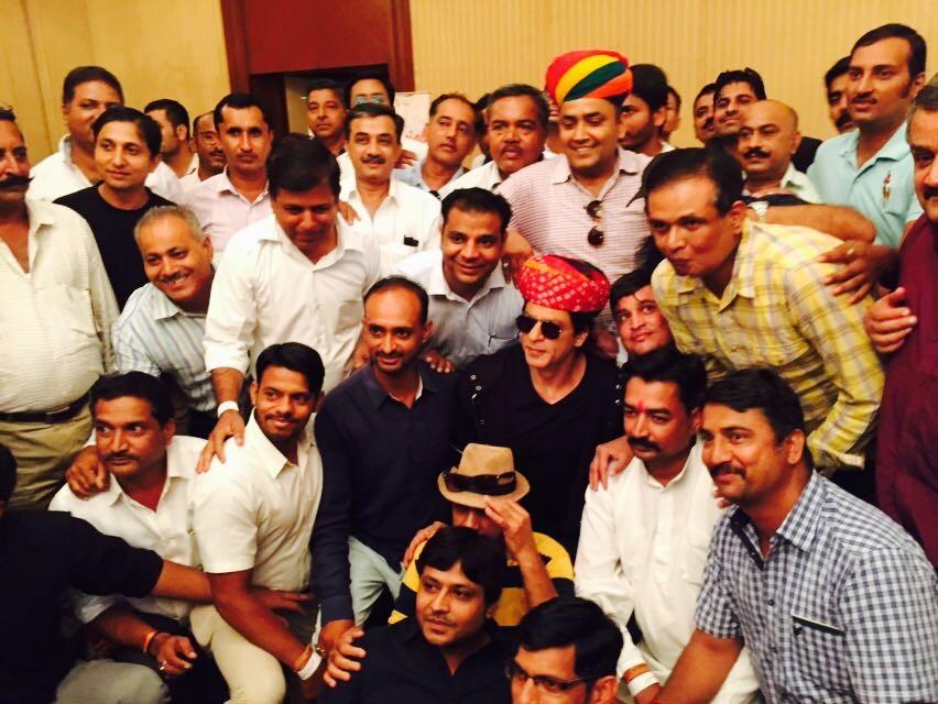 Shah Rukh Khan,SRK,Jab Harry met Sejal,Shah Rukh Khan accepts Honorary Membership,Jodhpur Tourist Guide Association
