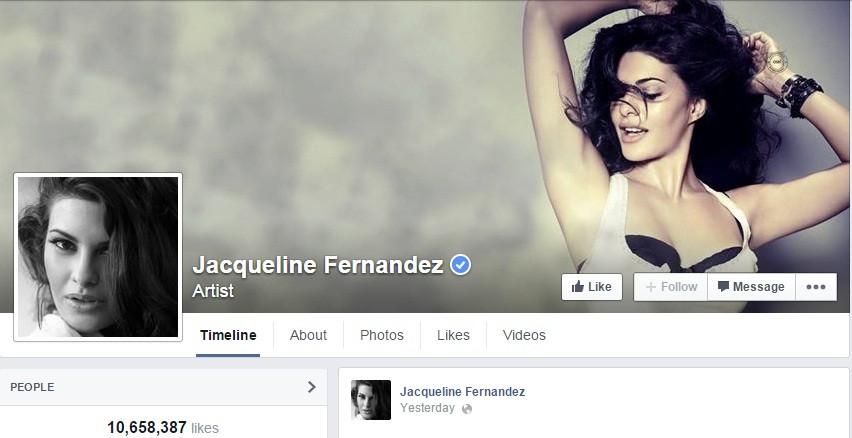 Jazqueline Fernandez Facebook