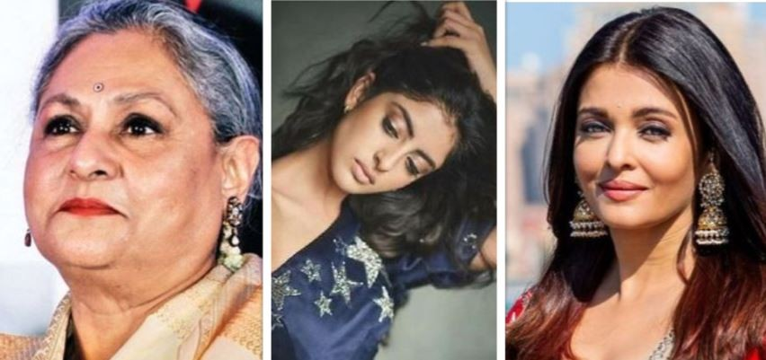 Jaya Bachchan, Navya Naveli and Aishwarya Rai
