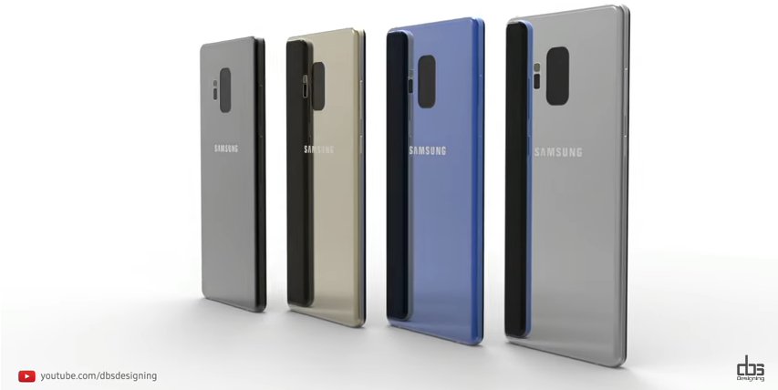 Samsung, Galaxy Note 9, Concept video