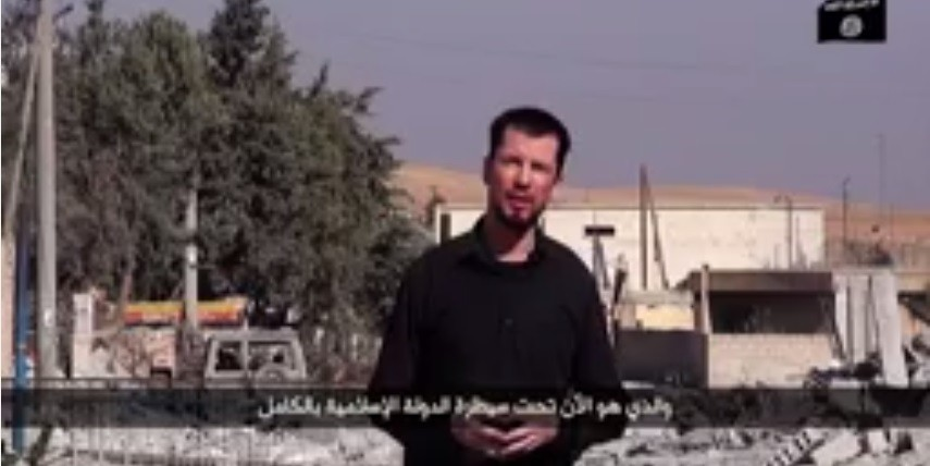 John Cantlie, a British journalist,taken hostage by ISIS reports from Kobani.