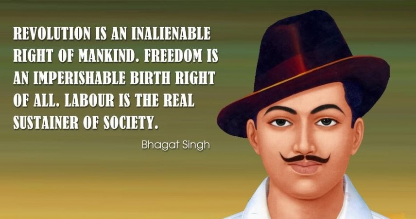 Best Patriotic Quotes In Hindi: Shaheed Bhagat Singh's 108th Birth Anniversary: Inspiring