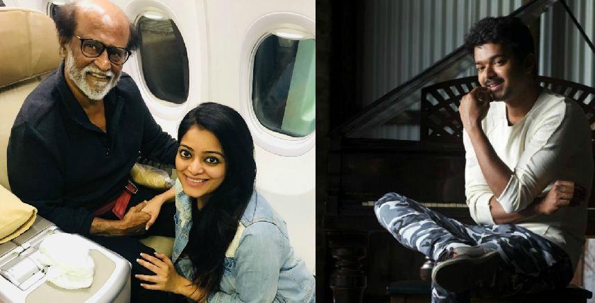 Rajinikanth leaves Chennai, Vijay to skip Natchathira Vizha