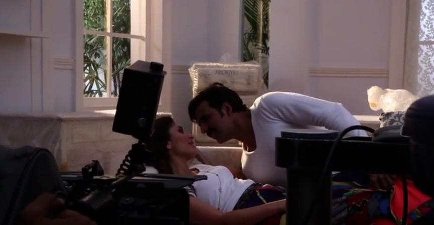 Making of 'Gabbar Is Back': Akshay Kumar is Taught To Romance Kareena Kapoor Khan