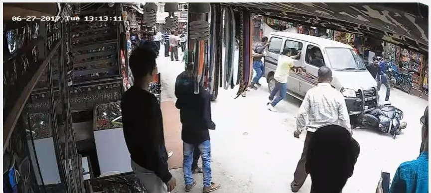 Woman dragged in Rajasthan