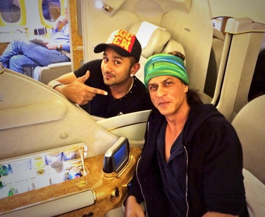 Honey Singh, Shah Rukh Khan