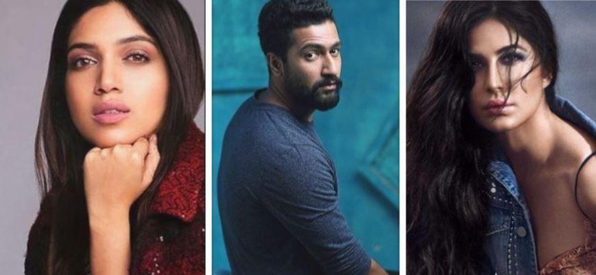 Bhumi Pednekar, Vicky Kaushal, Katrina Kaif