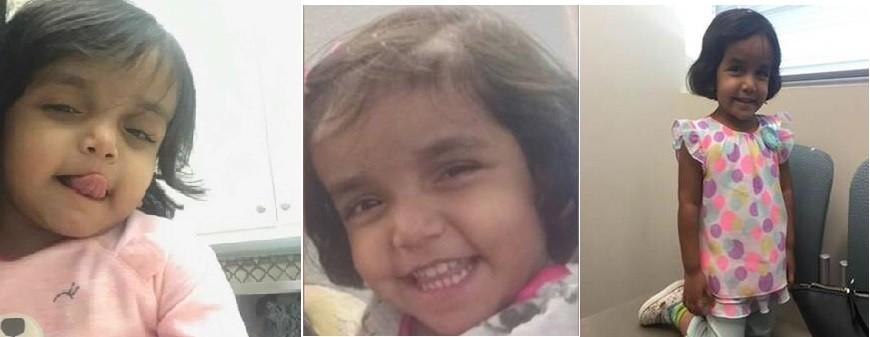 Kerala Girl Sherin Mathews Missing In Us Cops Get Crucial