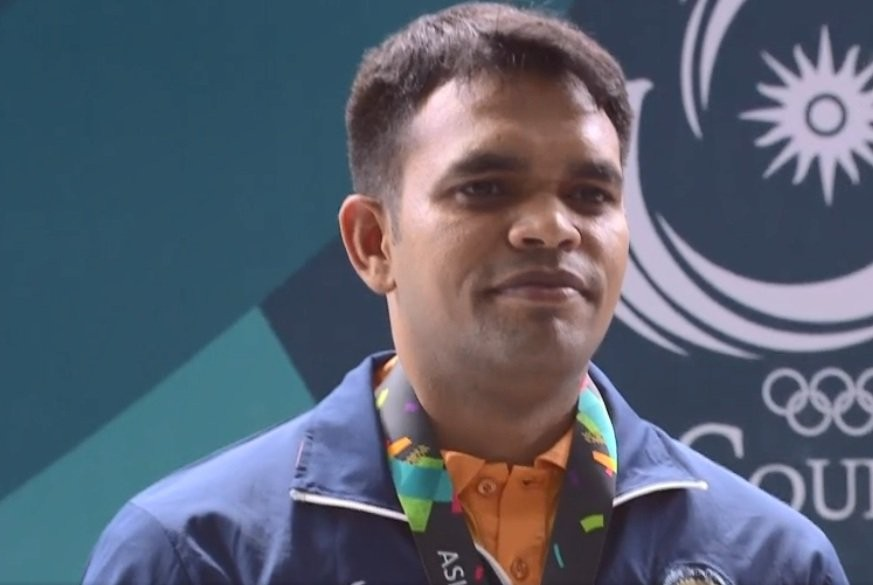 Asian Games 2018,Deepak Kumar,Deepak Kumar wins silver,Shooter Deepak Kumar,10m Air Rifle