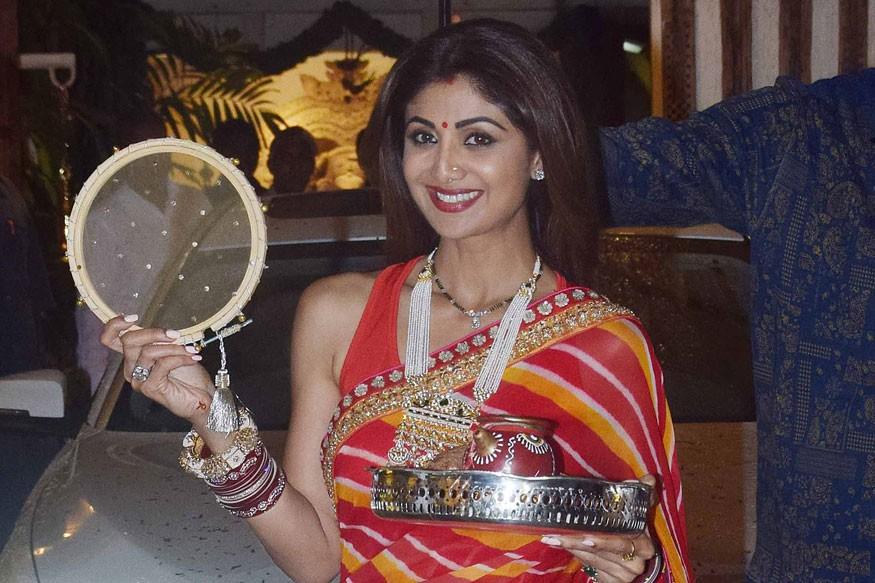 Shilpa Shetty,Sridevi,Raveena Tandon,Karva Chauth,Karva Chauth 2017,Karva Chauth celebrations,Karva Chauth festival,Anil Kapoor