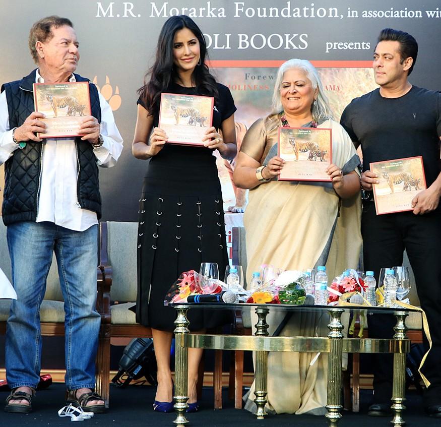 Salman Khan,Katrina Kaif,Tiger Zinda Hai,Bika Kak,Bika Kak book,Bika Kak book launch,Salman Khan and Katrina Kaif