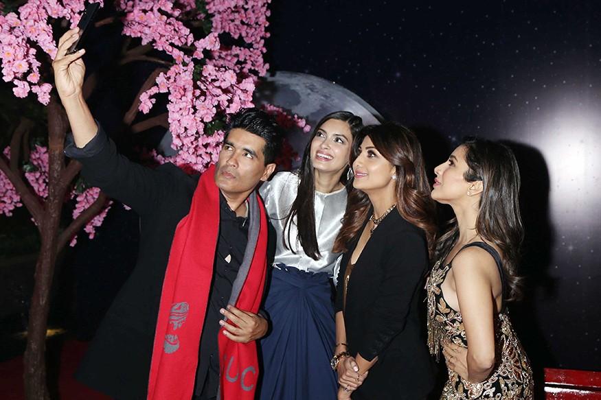 Shilpa Shetty,Diana Penty,Sophie Choudry,Manish Malhotra,Hong Kong Club launch Party,Hong Kong Club launch,Hong Kong Club Party