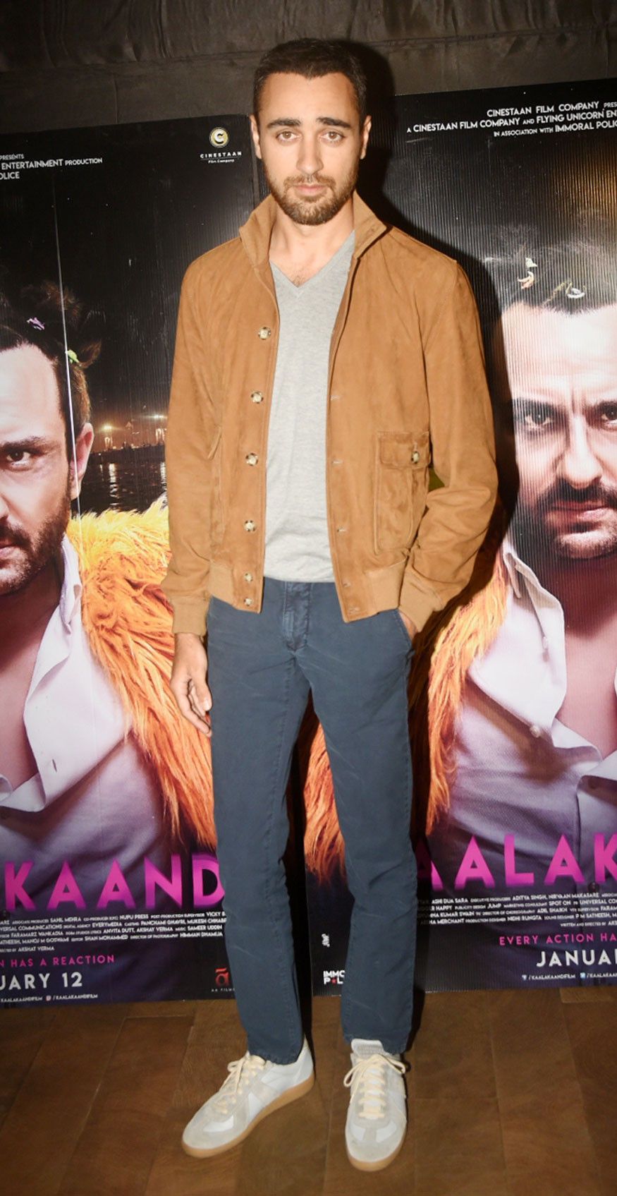 Shruti Haasan,Akshara Haasan,Imran Khan,Akshay Oberoi,Shobita Dhulipala,Kunaal Roy Kapur,Kaalakaandi,Kaalakaandi special screening,celebs at Kaalakaandi special screening,Kaalakaandi special screening pics,Kaalakaandi special screening images,Kaalakaandi