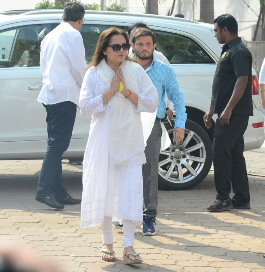 Arbaaz Khan,Jaya Prada,Urvashi Rautela,Aditya Thackeray,Sridevi funeral,celebs at Sridevi funeral,Celebration Sports Club,Sridevi,actress Sridevi