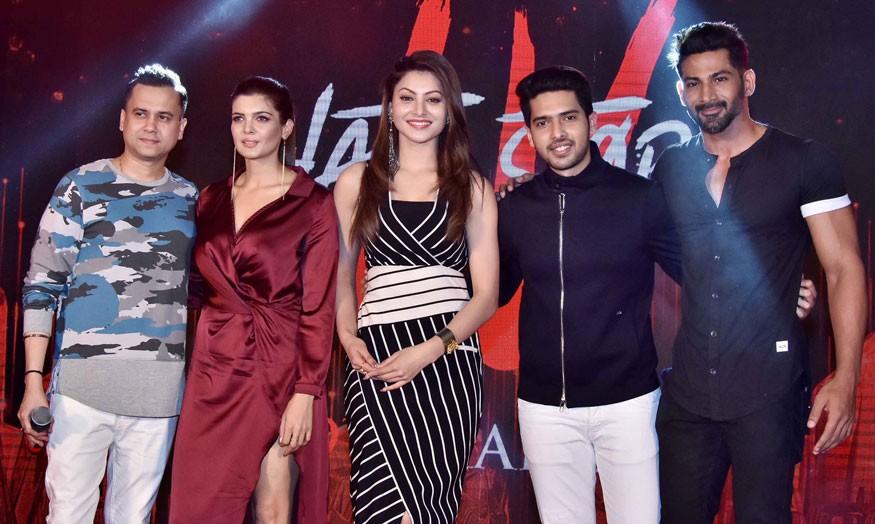Vishal Pandya,Ihana Dhillon,Urvashi Rautela,Armaan Malik,Hate Story 4,Hate Story 4 promotion,Hate Story 4 movie promotion