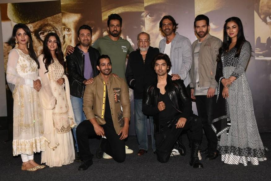 Arjun Rampal,Sonu Sood,Sonal Chauhan,Paltan trailer launch,Paltan trailer,Paltan trailer launch pics,Paltan trailer launch images,Paltan trailer launch stills,Paltan trailer launch pictures,Paltan trailer launch photos