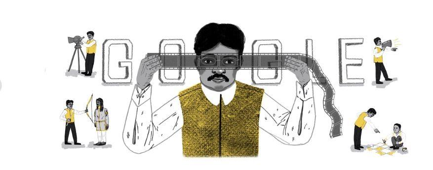 Dadasheb Phalke's Google Doodle