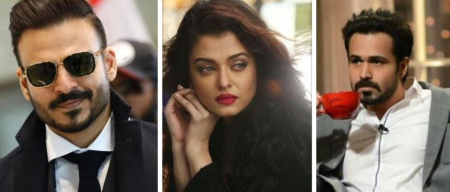 Vivek Oberoi, Aishwarya Rai Bachchan, Emraan Hashmi