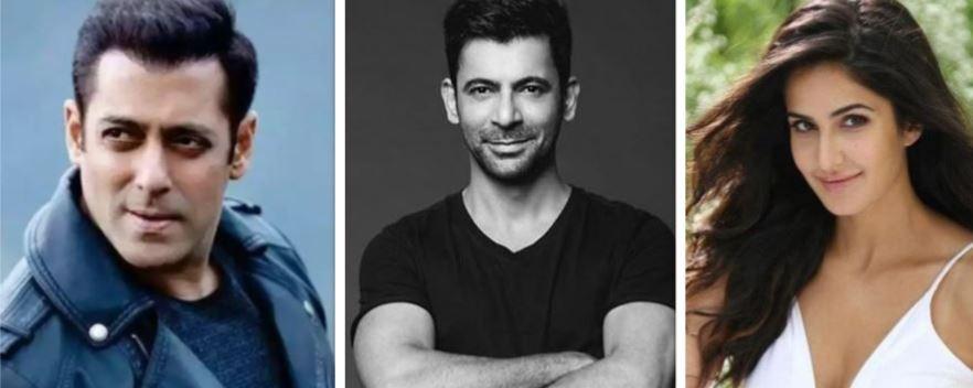 Salman Khan, Sunil Grover, Katrina Kaif