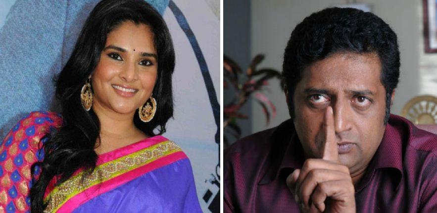 Ramya and Prakash Raj Trolled