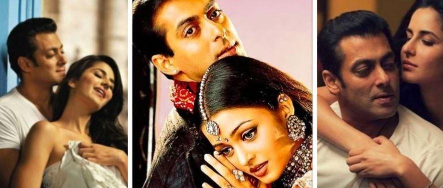 Salman Khan, Katrina Kaif, Aishwarya Rai