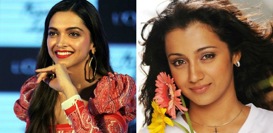 Deepika Padukone, Trisha are top contenders to romance Rajinikanth