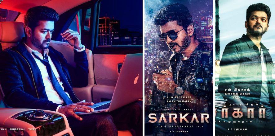 Vijay's looks in Sarkar