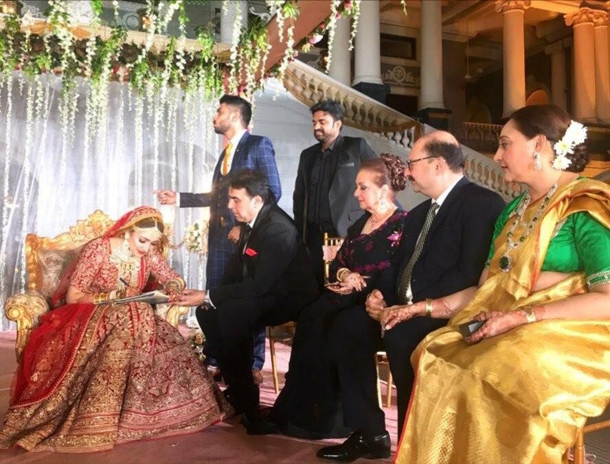 Arya-Sayyeshaa Marriage