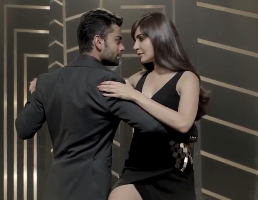 Anushka Sharma and Virat Kohli