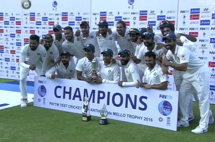 India beat England,India beat England by innings,India thrash England,Ravindra Jadeja,Virat Kohli,Chidambaram Stadium,Chennai test,Chennai test match