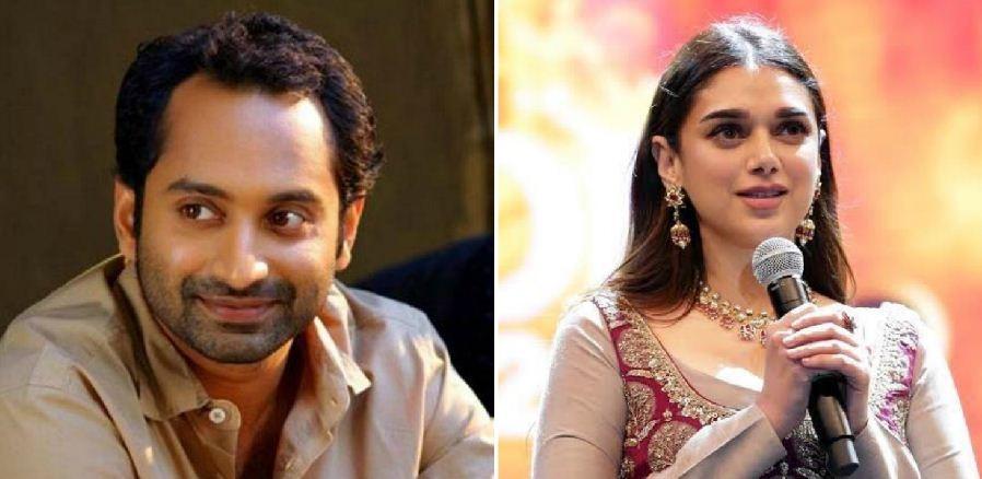 Fahadh Faasil and Aditi Rao Hydari