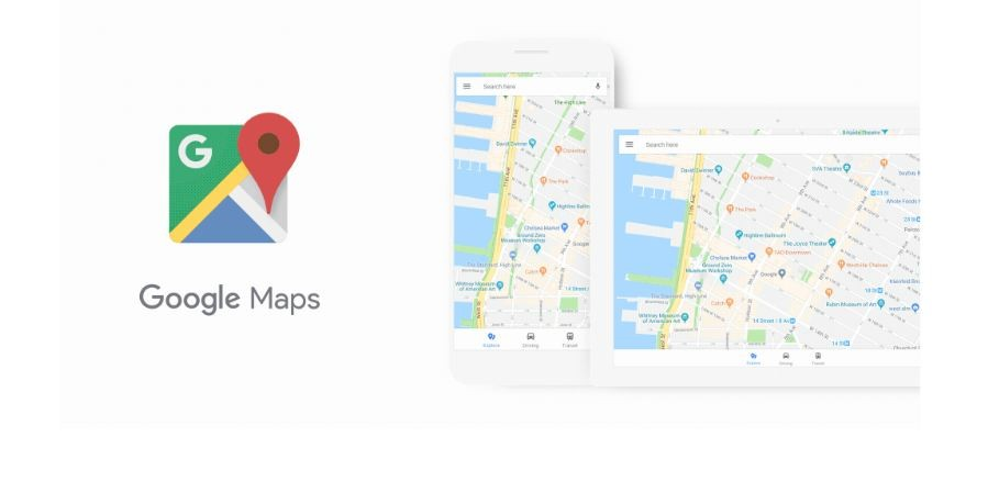 Google Maps, new UI, coloured icons, information,