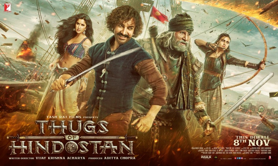 Amitabh Bachchan,Amitabh Bachchan as Khudabaksh,Khudabaksh,Thugs Of Hindostan first look,Thugs Of Hindostan,Thugs Of Hindostan first look poster