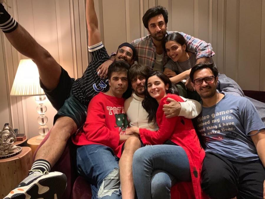 Shah Rukh Khan,Aamir Khan,Alia Bhatt,Ranbir Kapoor,Deepika Padukone,Ranveer Singh,Karan Johar blockbuster,Karan Johar
