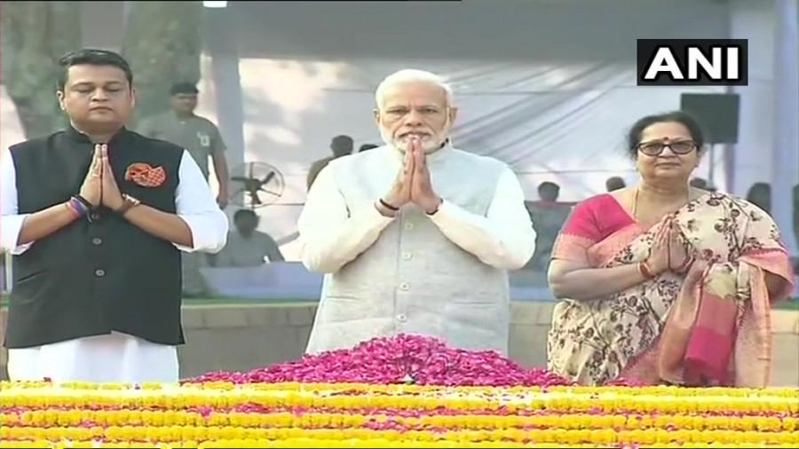 Narendra Modi,President Kovind,PM Narendra Modi,Gandhi Jayanti 2018,Mahatma Gandhi,Mahatma Gandhi birthday,Mahatma Gandhi birth anniversary