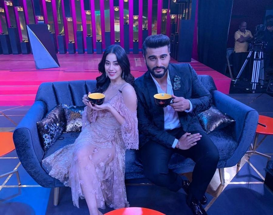 Janhvi Kapoor and Arjun Kapoor,Janhvi Kapoor,Arjun Kapoor,Koffee with Karan 6,Koffee with Karan,B-town siblings