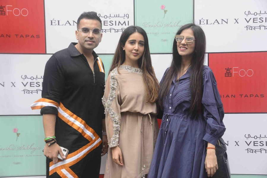 Pakistan's favorrite fashion Label,ÉLAN,ÉLAN launched in India,Lower Parel,VESIMI,stylist Sanjana Batra,Sanjana Batra