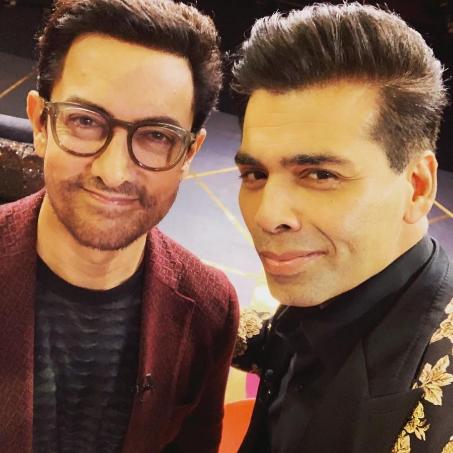 Karan Johar,Koffee With Karan,Aamir Khan in Koffee With Karan,Aamir Khan,Karan season 6