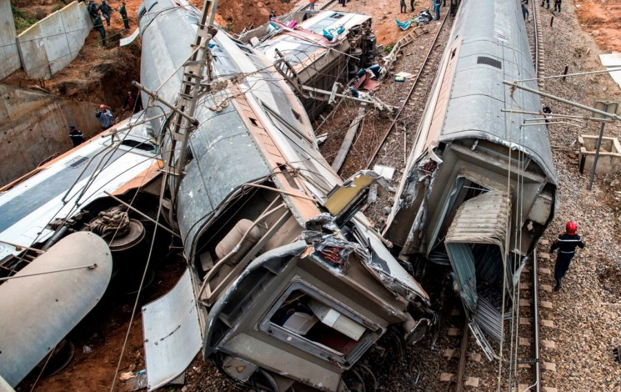 Morocco,Morocco Train Derail,train accident,Moroccan Train-Wreck,Train Crash in Morocco,Rabat,Train derailment,Train derailed