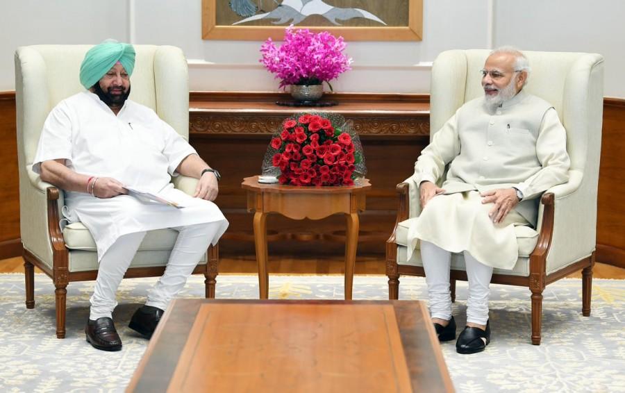 Stubble burning,Amarinder Singh,CM Amarinder Singh,Amarinder Singh meets Modi,Amarinder Singh meets Narendra Modi,Narendra Modi