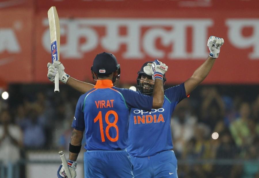 Rohit Sharma,Virat Kohli,India thrash West Indies,India beats West Indies,Rohit Sharma and Virat Kohli,India vs West Indies,India vs West Indies ODI series