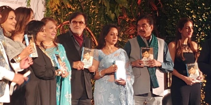 Shatrughan Singa,Hema Malini,Farooq Abdullah,Sanjay Khan's autobiography launch,Sanjay Khan's autobiography,Sanjay Khan's autobiography launch pics,Sanjay Khan's autobiography launch images,Sanjay Khan's autobiography launch still