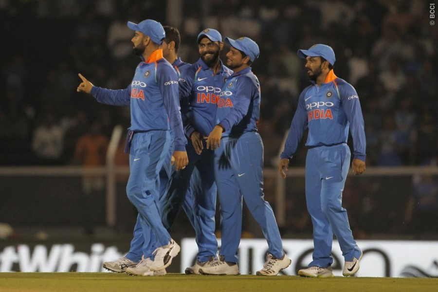 IND vs WI 4th ODI,IND vs WI,India outshine West Indies,India beats West Indies,Bhuvneshwar,Rohit Sharma,Ambati Rayudu,Khaleel Ahmed,Kuldeep Yadav