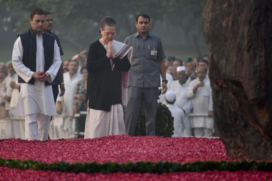 Sonia Gandhi,Rahul Gandhi,Manmohan Singh,Indira Gandhi,Indira Gandhi death anniversary,tributes to Indira Gandhi,UPA chairperson Sonia Gandhi,President Rahul Gandhi