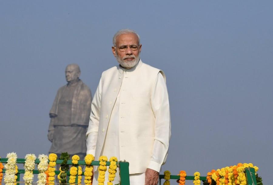 Narendra Modi,PM Narendra Modi,Statue of Unity,Sardar Vallabhbhai Patel,Sardar Vallabhbhai Patel statue,Sardar Vallabhbhai Patel statue pics,Sardar Vallabhbhai Patel statue images,Sardar Vallabhbhai Patel birth anniversary,Sardar Vallabhbhai Patel statue